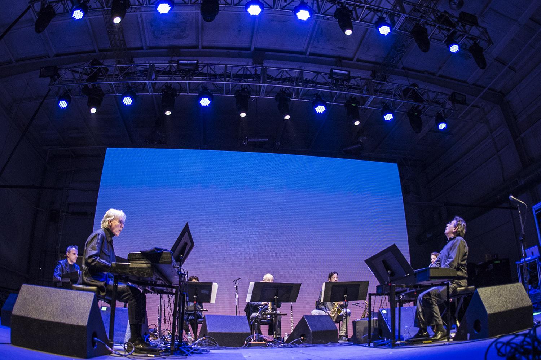 Philip Glass Ensemble // Photo by David Brendan Hall