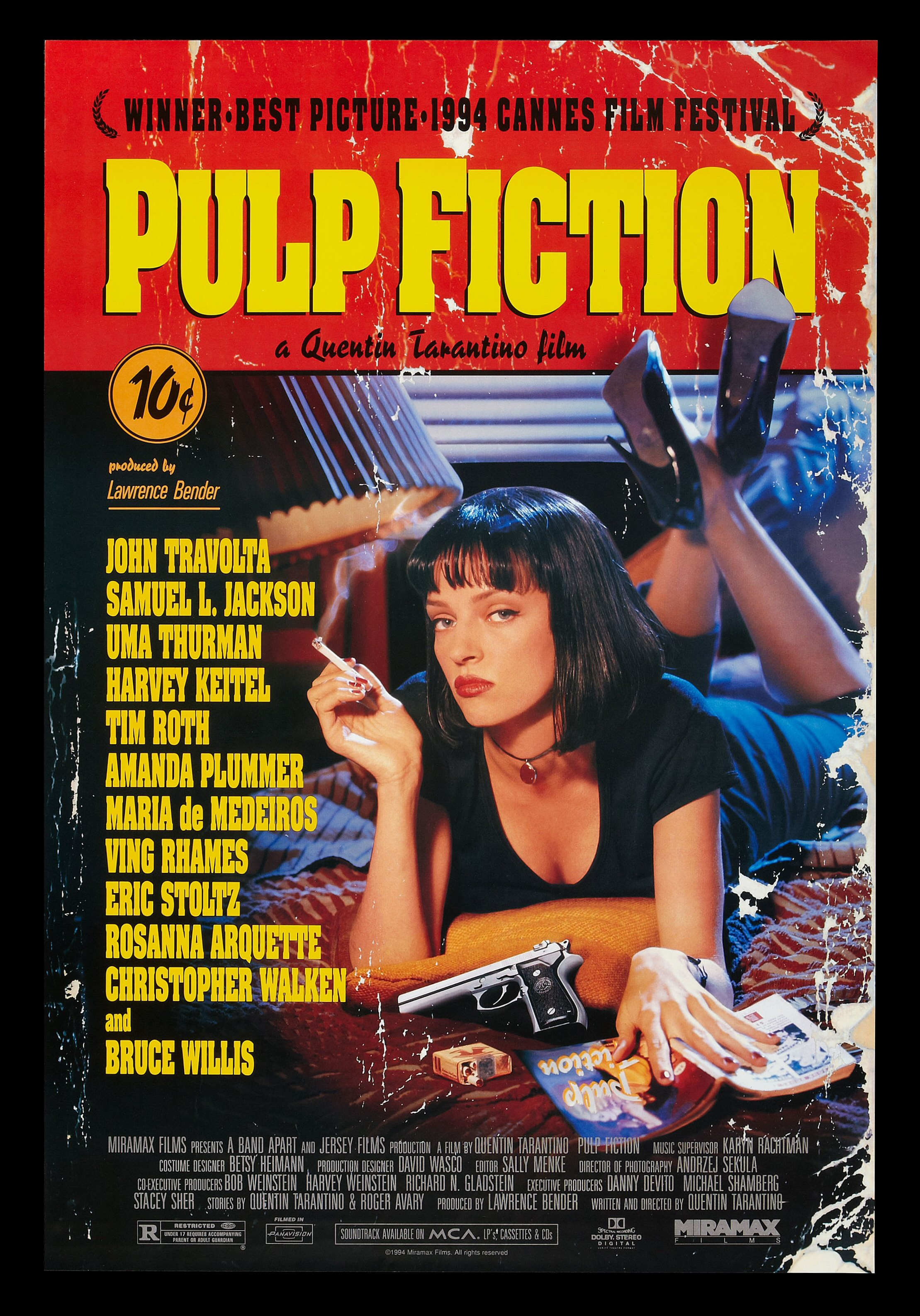 pulpfaug08 Ranking: Every Quentin Tarantino Movie from Worst to Best