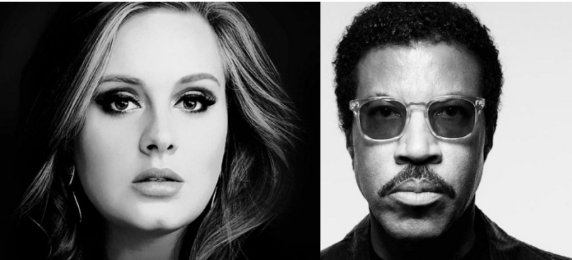 Hello Dream Collaboration Adele And Lionel Richie To Work Together
