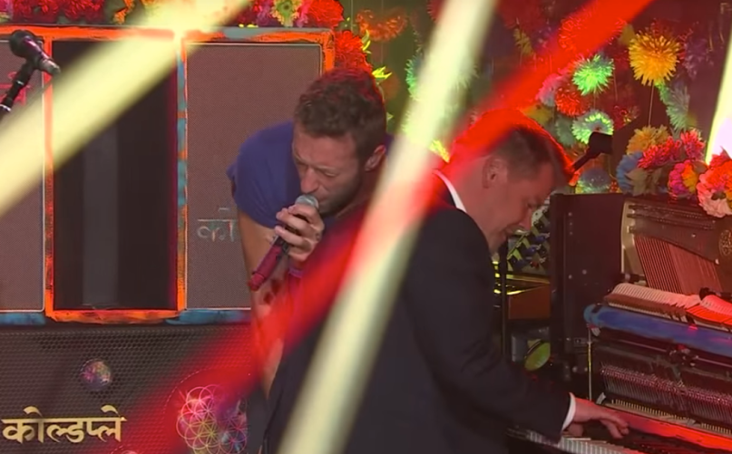 Coldplay on James Corden