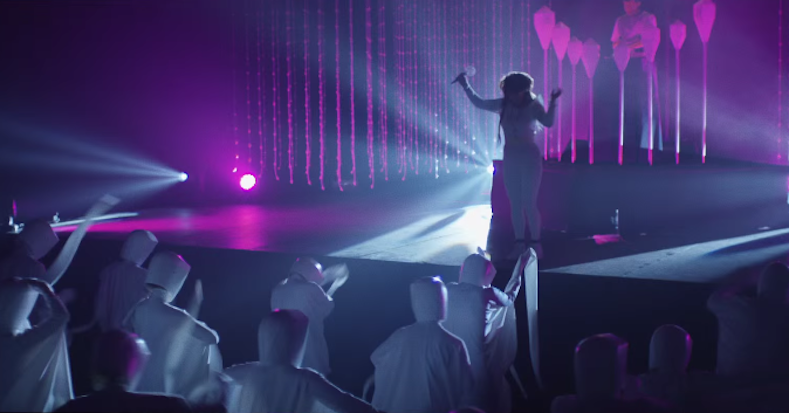 Purity Ring put on a light show for aliens in video for