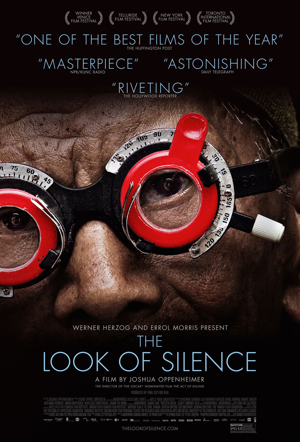 the look of silence Top 25 Films of 2015