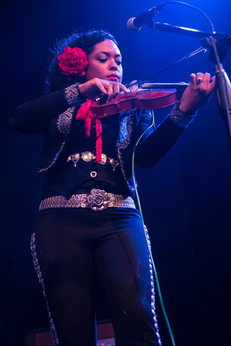 Mariachi Flor de Toloache // Photo by Cathy Poulton