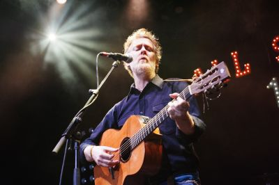 Glen Hansard at NPR Music Presents All Songs Considered's Sweet 16 Celebration // Photo by Clarissa Villondo