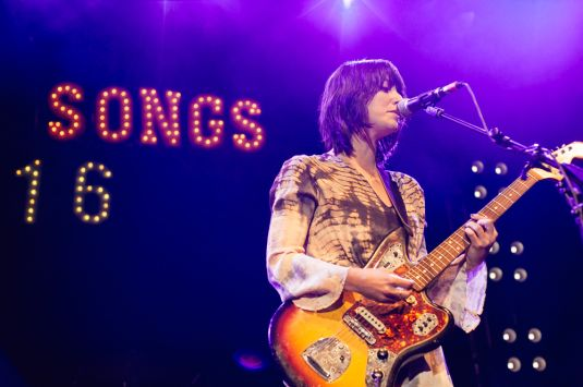 Sharon Van Etten at NPR Music Presents All Songs Considered's Sweet 16 Celebration // Photo by Clarissa Villondo