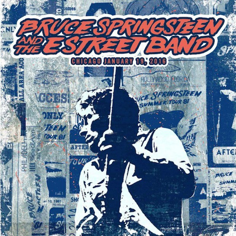 Bruce Springsteen offers free download of Chicago 'River
