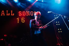 Kishi Bashi at NPR Music Presents All Songs Considered's Sweet 16 Celebration // Photo by Clarissa Villondo
