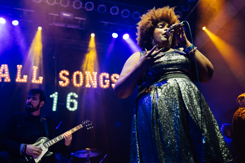 The Suffers at NPR Music Presents All Songs Considered's Sweet 16 Celebration // Photo by Clarissa Villondo