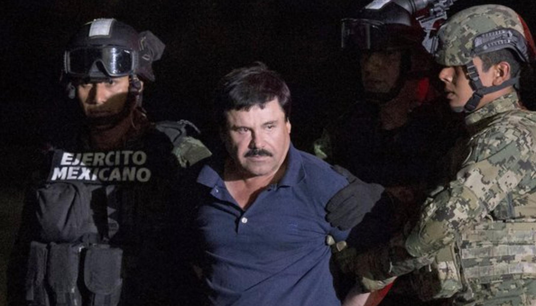 Mexican drug lord El Chapo was caught while trying to make a film about  himself