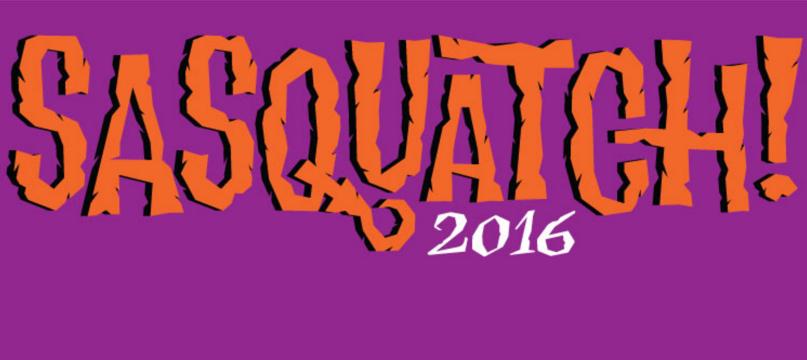 Sasquatch 2016