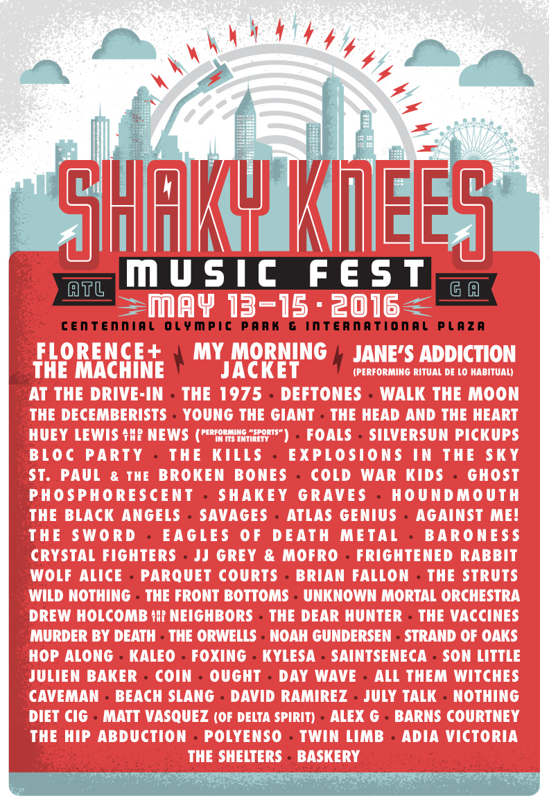 shakyknees16 lineuplistemail351 Win tickets to Shaky Knees Music Festival 2016