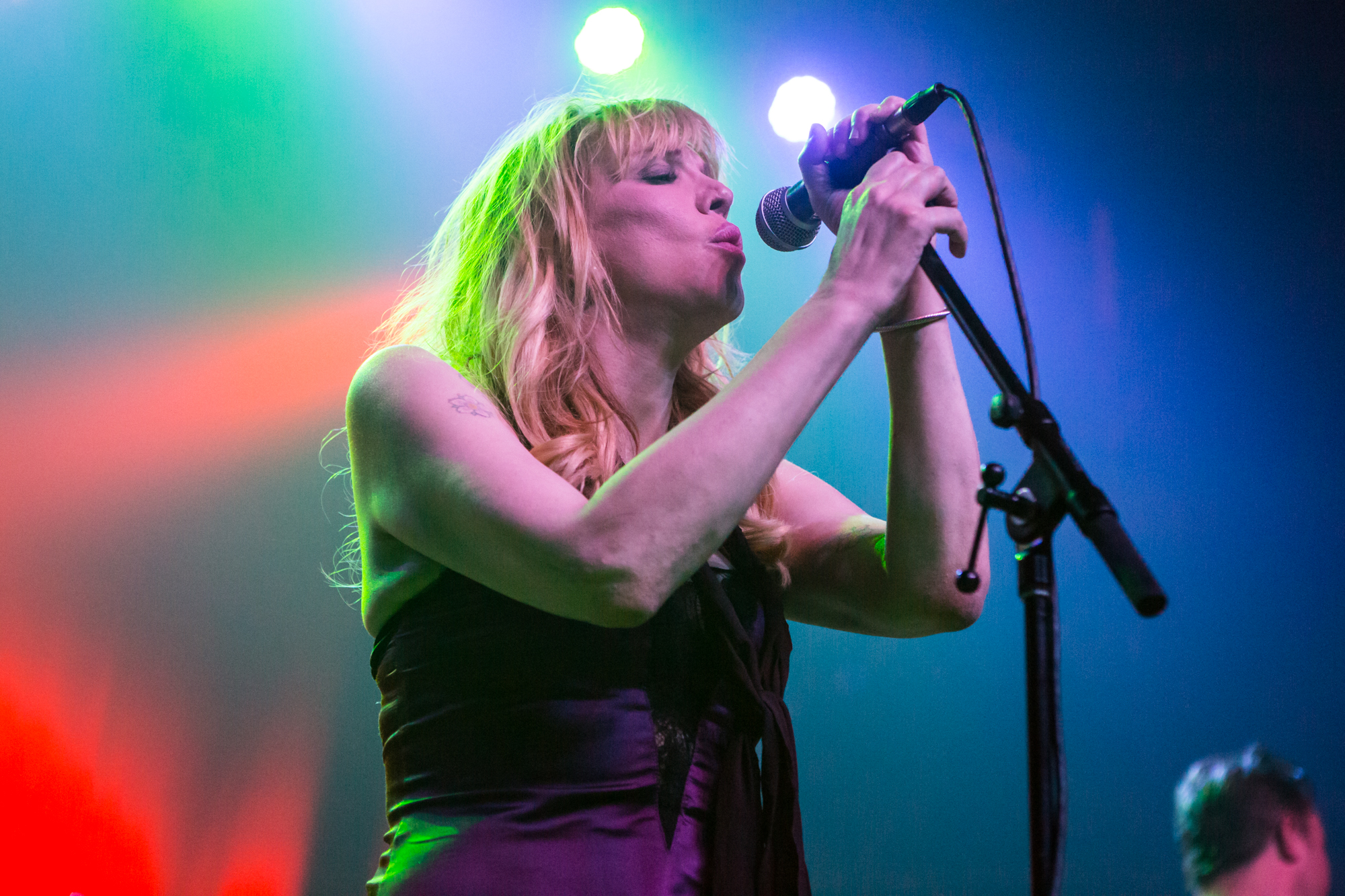 Courtney Love // Photo by Philip Cosores