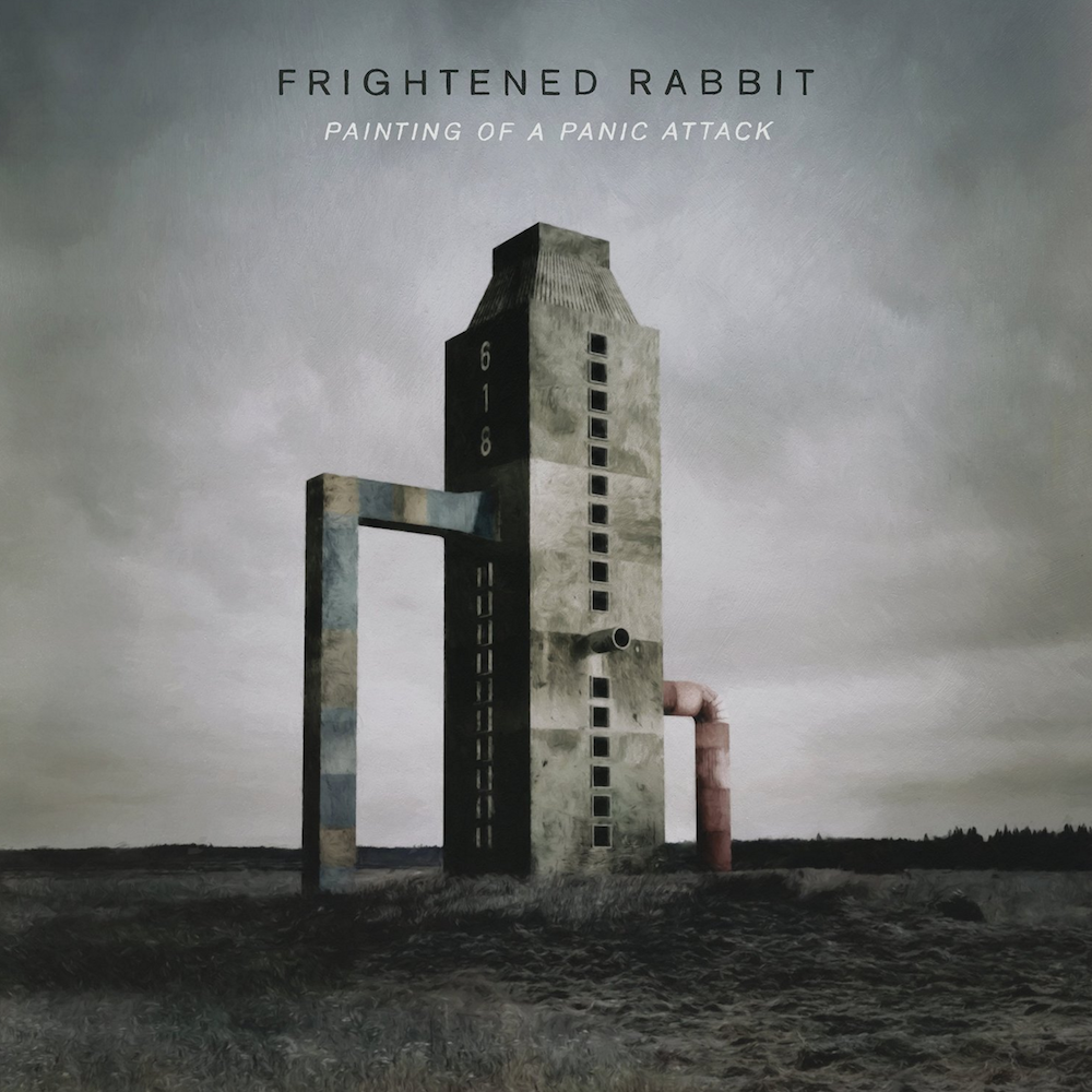 frightened rabbit painting of a panic attack Frightened Rabbit announce new album, share Death Dream    listen
