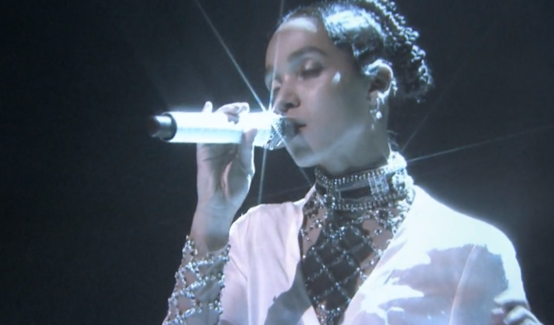 FKA Twigs on Fallon