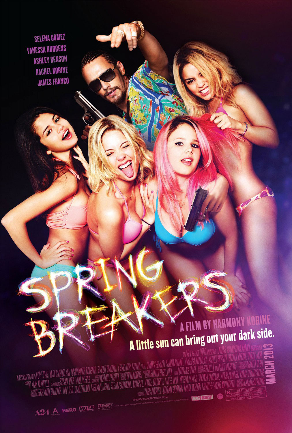 spring breakers1 The 27 Best Film Ensembles: From Boogie Nights to Spring Breakers