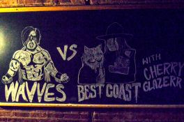 Wavves vs Best Coast // Photo by Amanda Koellner