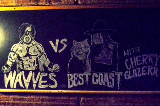 Wavves vs Best Coast // Photo by Amanda Koellner