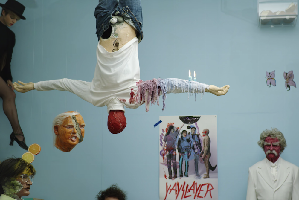 yeasayer amen goodbye new song trump Yeasayer share dreamy new song, bizarre Donald Trump inspired album artwork