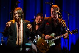 Iggy Pop and Josh Homme // Photo by Philip Cosores
