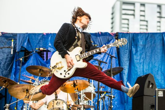 Beach Slang // Photo by Philip Cosores