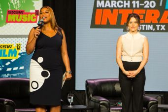 Queen Latifah and Sofia Bush // Photo by Philip Cosores