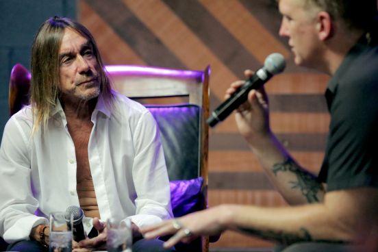 Iggy Pop and Josh Homme // Photo courtesy of Apple