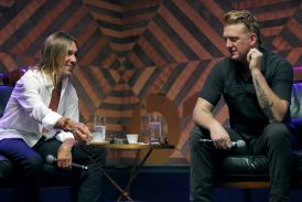 Iggy Pop and Josh Homme // Photo courtesy of Apple