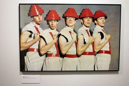 "Mark Mothersbaugh's ""Myopia"" Exhibition // Photo by Heather kaplan"