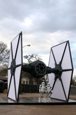 TIE Fighter // Photo by Heather Kaplan