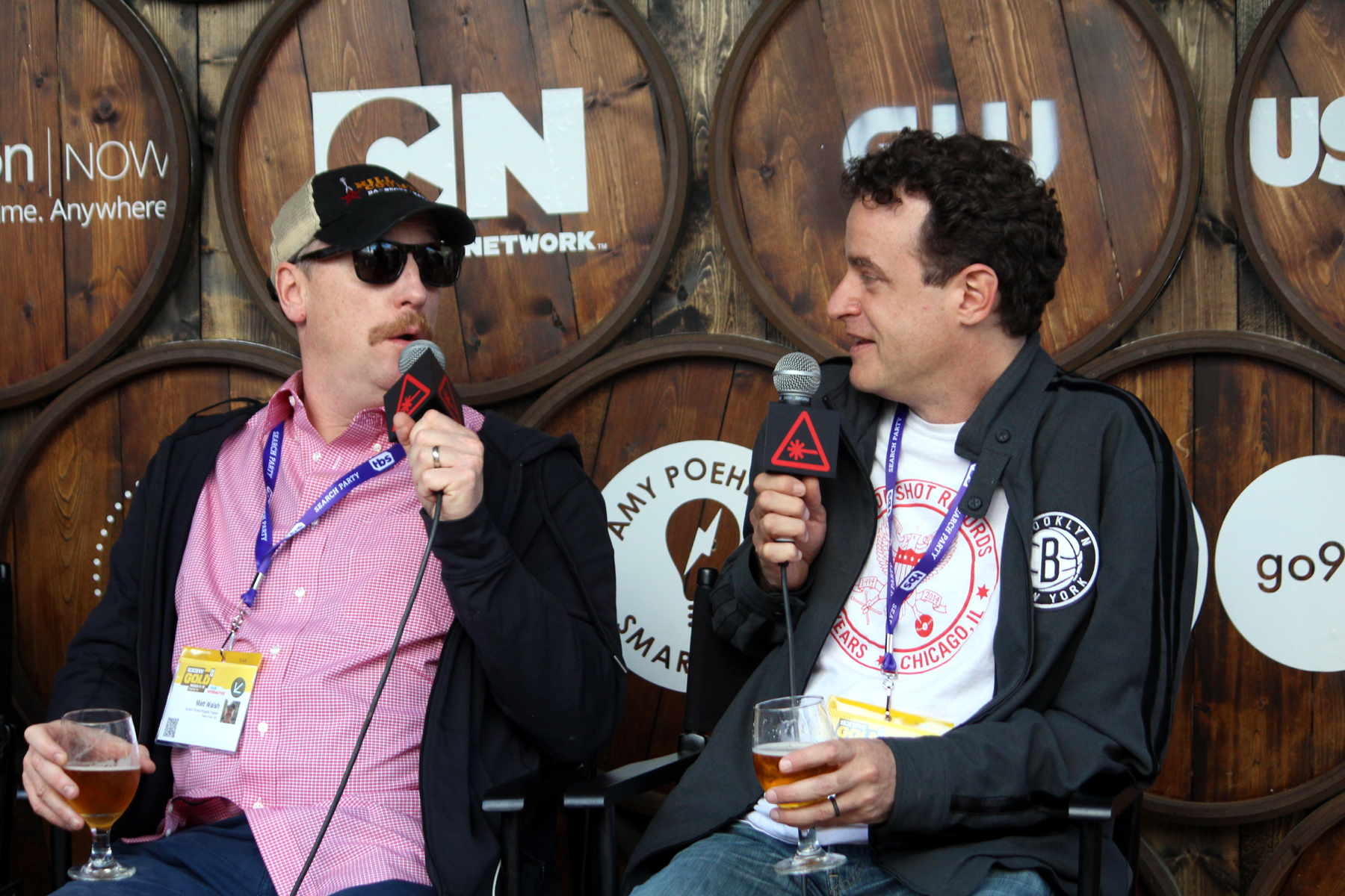 Matt Walsh and Matt Besser // Photo by Heather Kaplan