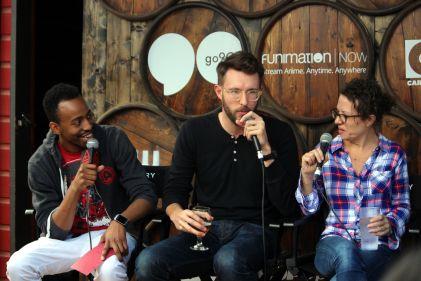 Malik Forte, Charlie Hewson, and Sophie Goodhart // Photo by Heather Kaplan