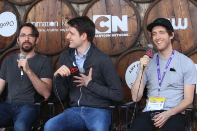 Martin Starr, Zach Woods, and Thomas Middleditch // Photo by Heather Kaplan