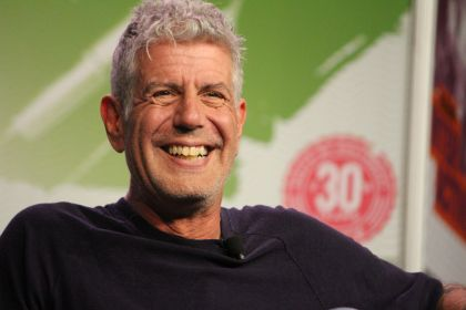 Anthony Bourdain, photo by Heather Kaplan
