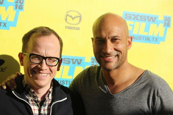 Chris Gethard and Keegan-Michael Key // Photo by Heather Kaplan