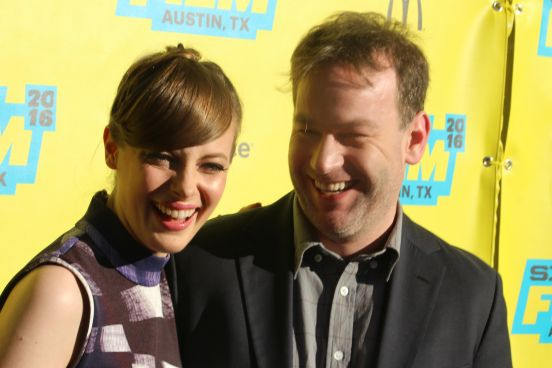 Gillian Jacobs and Mike Birbiglia // Photo by Heather Kaplan