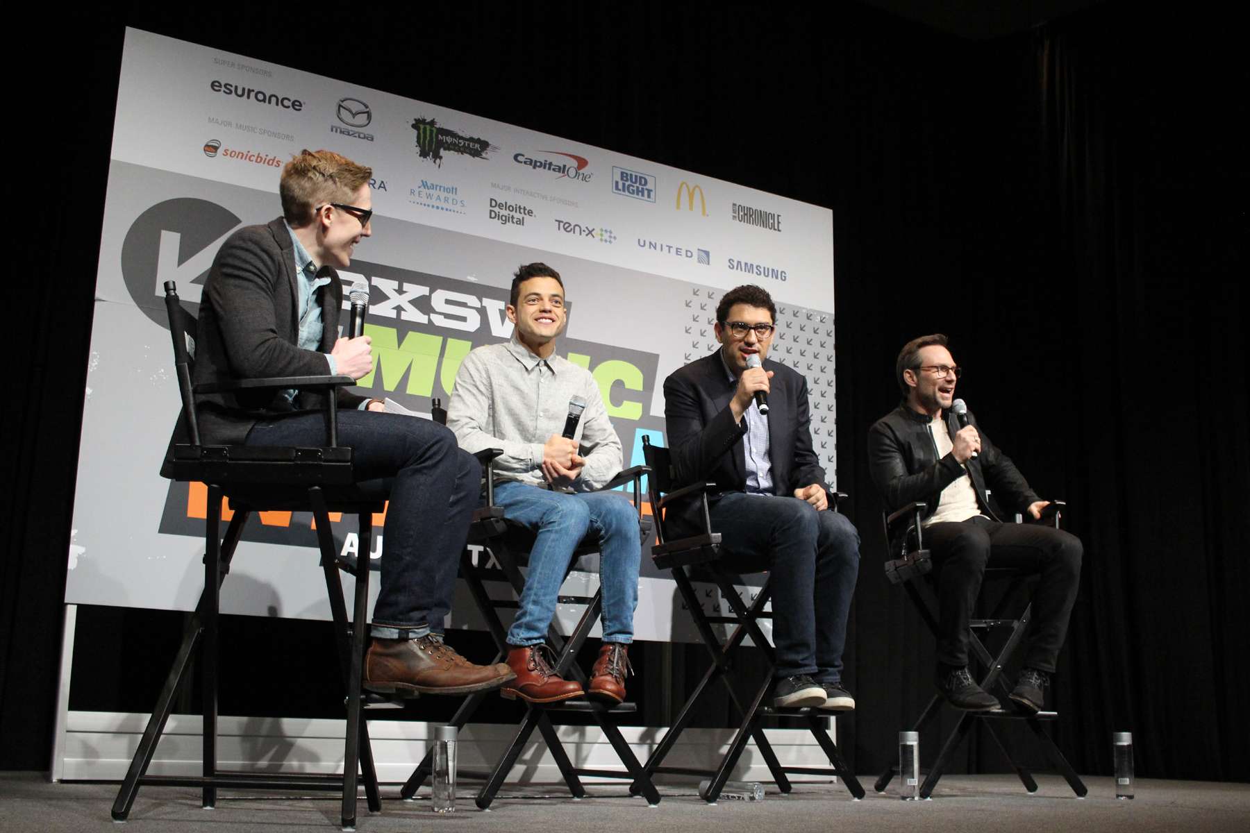 Mr. Robot Panel // Photo by Heather Kaplan