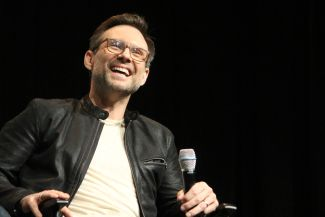 Christian Slater // Photo by Heather Kaplan