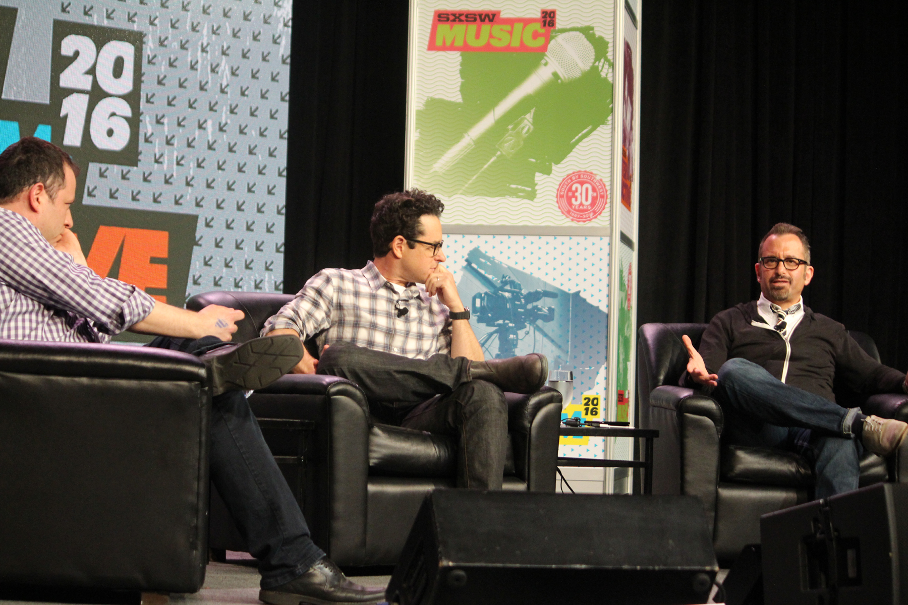 JJ Abrams and Andrew Jarecki // Photo by Heather Kaplan