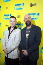 Greg Tiernan and Conrad Vernon // Photo by Heather Kaplan