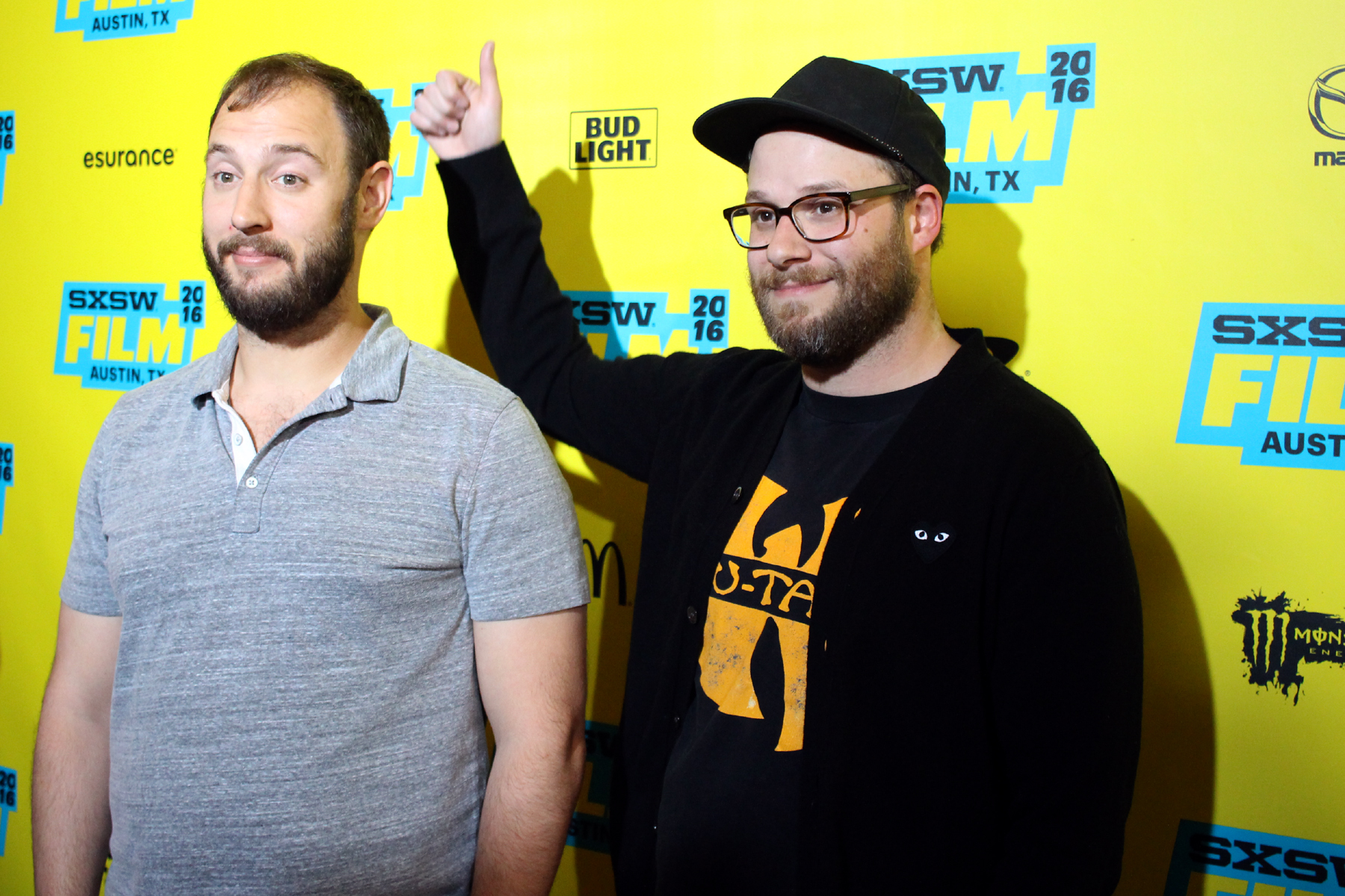 Evan Goldberg and Seth Rogen // Photo by Heather Kaplan