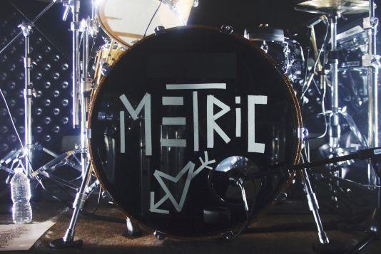 Metric // Photo by Ken Grand-Pierre