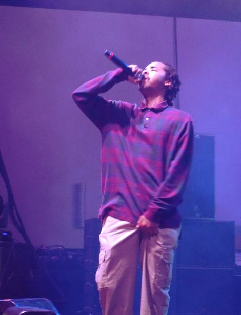 Earl Sweatshirt // Photo by Amanda Wicks
