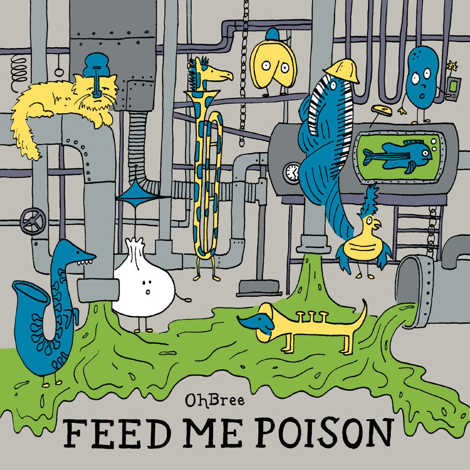 Stream: OhBrees unruly new EP, Feed Me Poison