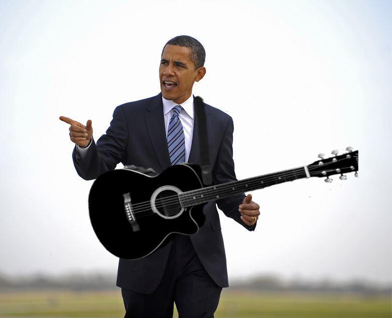 Guitar Obama