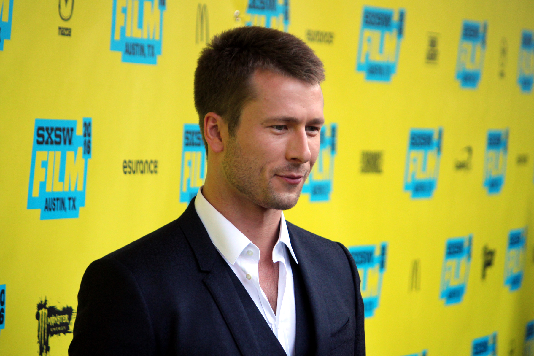 Glen Powell // Photo by Heather Kaplan