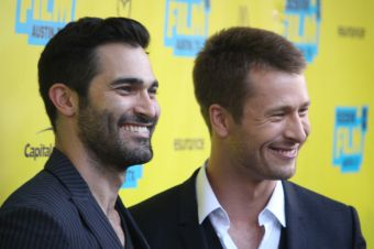 Tyler Hoechlin and Glen Powell // Photo by Heather Kaplan