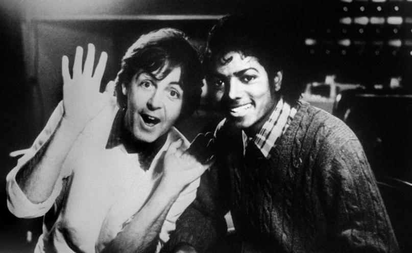Beatles Michael Jackson