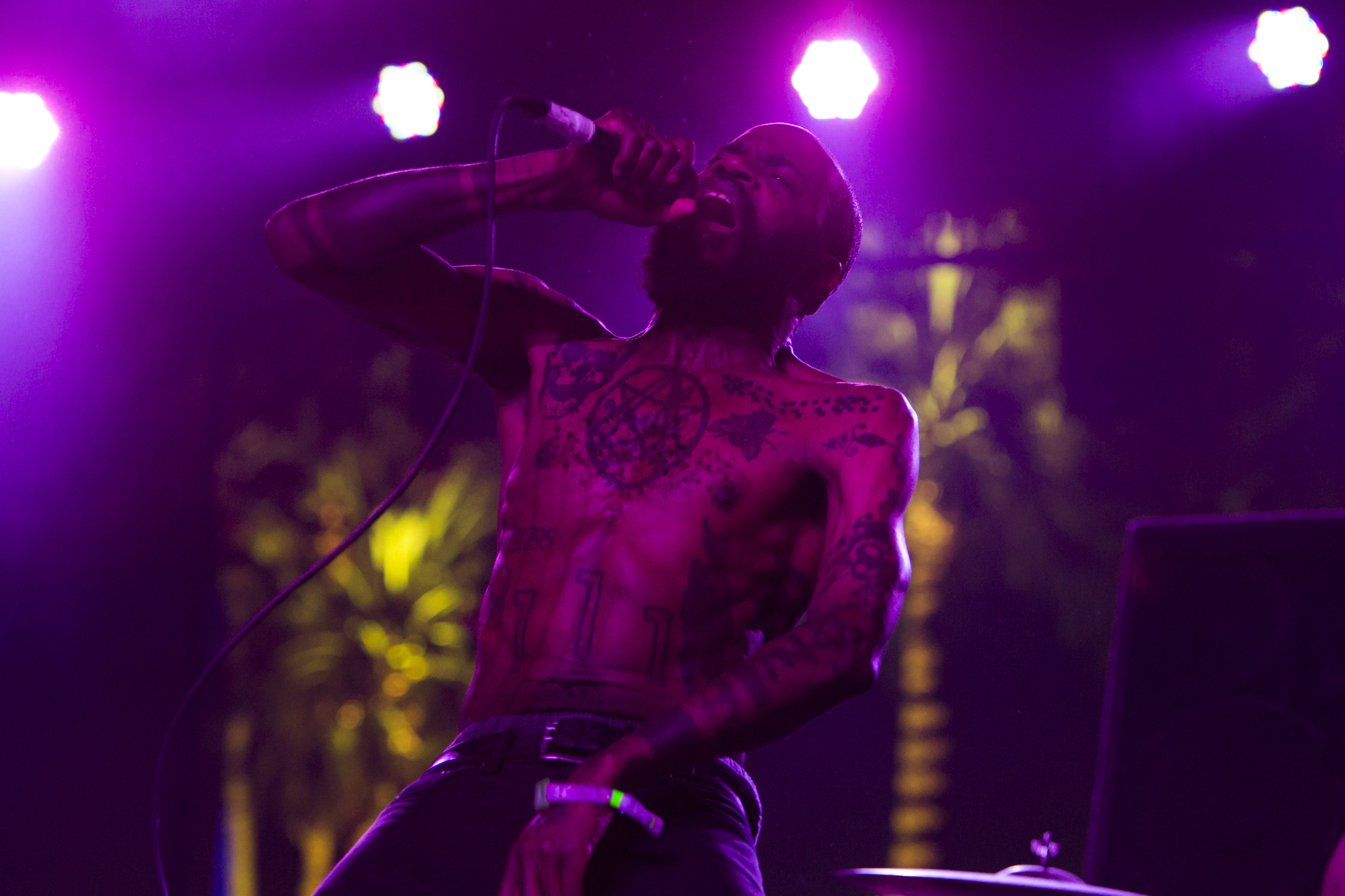 Death Grips // Photo by Philip Cosores