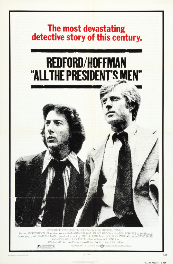 all the presidents men v01 1976 Still Making Headlines: All The Presidents Men Turns 40