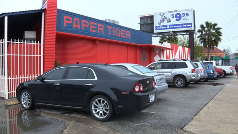 Paper Tiger San Antonio, Texas